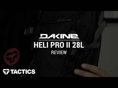 DAKINE Heli Pro II 28L Snowboard Backpack Review – Tactics.com