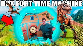 BOX FORT TIME MACHINE!! 📦⏰  Time Traveler's Challenge