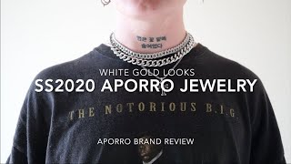 SS2020 Latest White Gold Looks By Aporro   Aporro Jewelry Brand Review