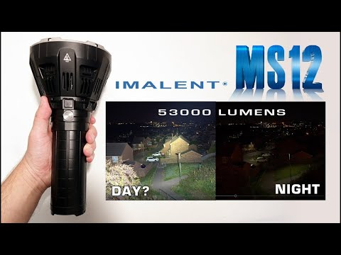 IMALENT MS12 - A genuine 50,000 lumens!!!