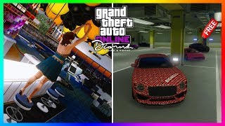 GTA 5 Online The Diamond Casino & Resort DLC Update - MASTER PENTHOUSE TOUR! Garage Showcase & MORE!
