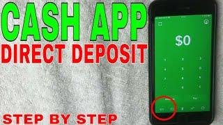 ✅  Cash App Direct Deposit Setup Instructions - New Layout 2021 🔴
