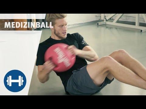 Komplettes Medizinball Workout für zuhause | Sport-Thieme