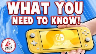 Nintendo's NEW Switch Lite Releasing September 2019! What You NEED To Know!
