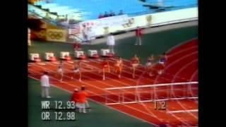 Olympic Seoul 1988- 110m Hurdles Heat 2