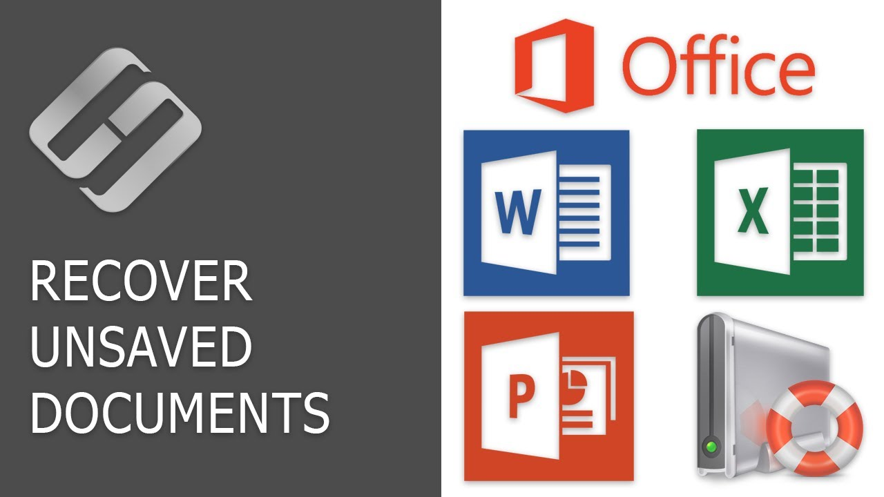 How to Recover an Unsaved or Lost Microsoft Word, Excel Document or PowerPoint Presentation