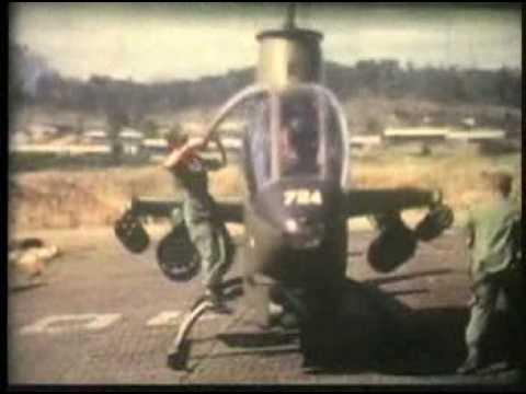 Vietnam Gunship Combat Footage | Charlie Company Vietnam