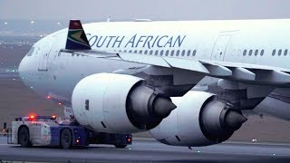 13 AWESOME Early Morning Landings   A340 747 777   Frankfurt Airport Plane Spotting