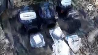 Diyarbakır'da PKK'lı teröristlerce kullanılan 6 mağara imha edildi