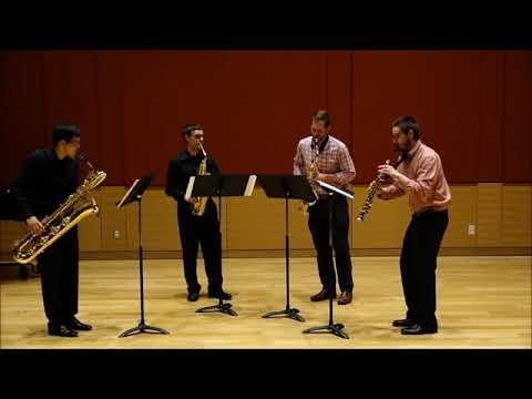 Saxophone Quartet - Introduction et variations sur une ronde populaire