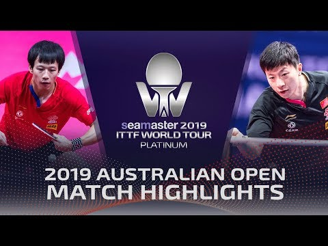 Ma Long vs Lin Gaoyuan | 2019 ITTF Australian Open Highlights (1/4)