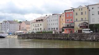 preview picture of video 'Dreiflüsse Stadtrundfahrt in Passau'