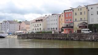 preview picture of video 'Dreiflüsse Stadtrundfahrt in Passau'