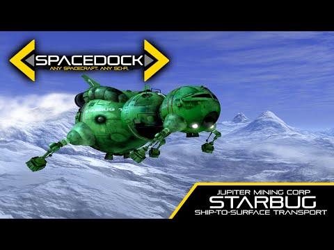 Kosmik 1 z Červeného trpaslíka - Spacedock