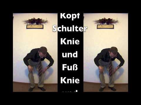 Injektionen von einem Schmerz in seinem Bein von hinten
