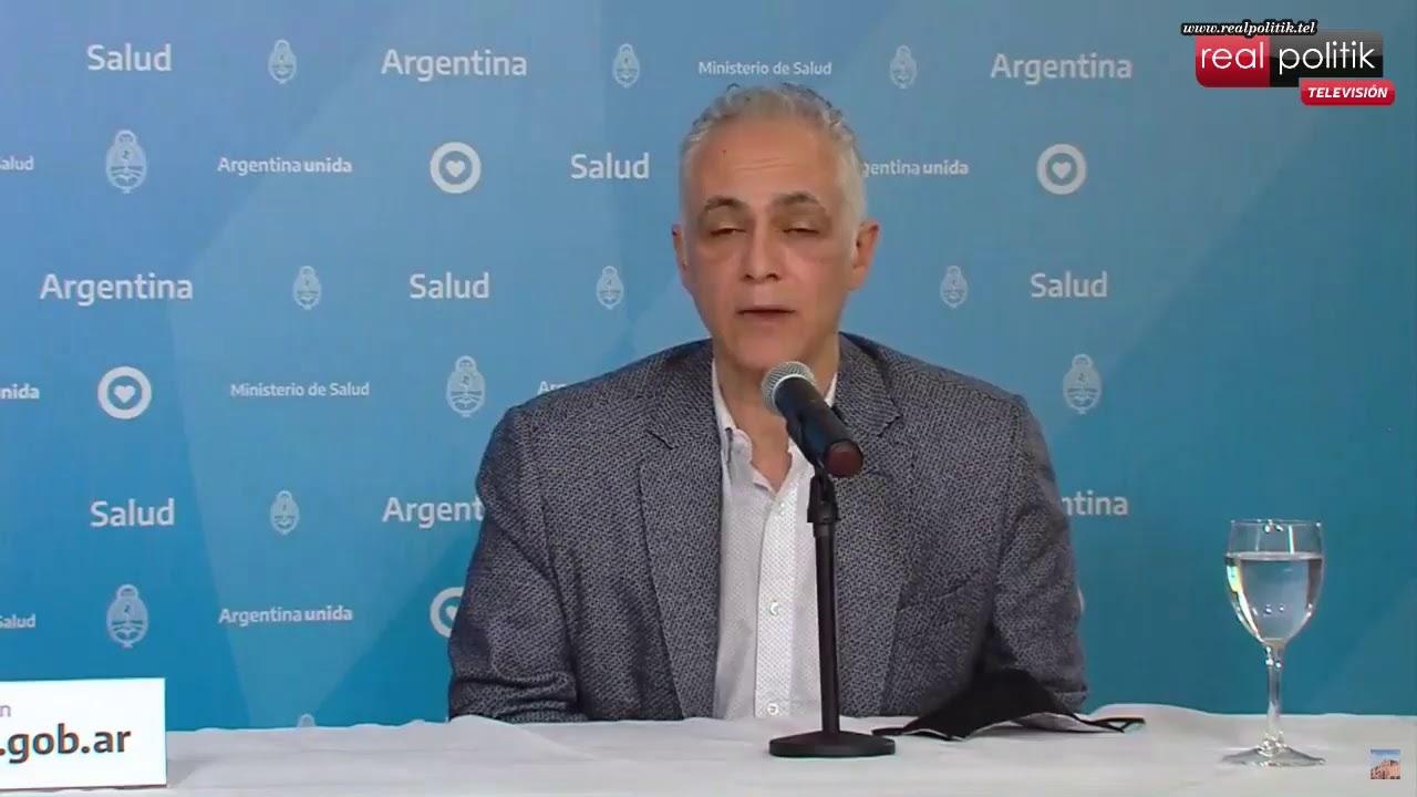 Situación de COVID-19 en Argentina: Reporte matutino Nro 375 desde el ministerio de Salud