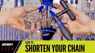 How To Shorten The Chain On Your Mountain Bike