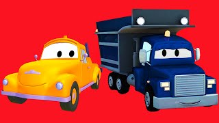 Tom the Tow Truck, Car Patrol, Carl Transform, Troy the Train and all kinds of trucks in Car City