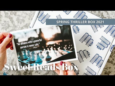 Sweet Reads Box Unboxing: Spring Thriller Box 2021