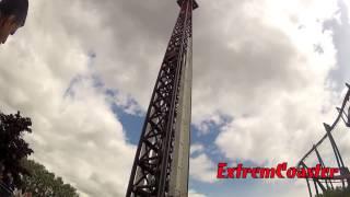 preview picture of video 'Detonator - Off Ride - POV - Thorpe Park 2013 - 1080p'