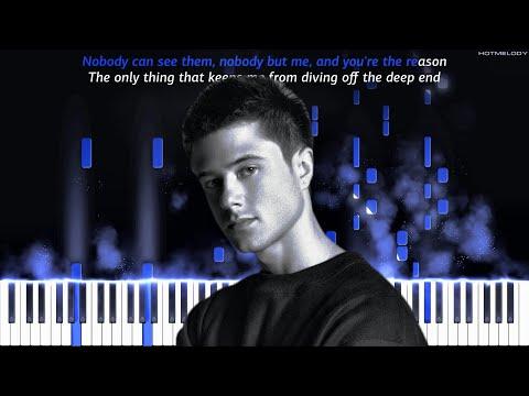 Alec Benjamin - Demons | Piano Instrumental Cover | Karaoke, Remix
