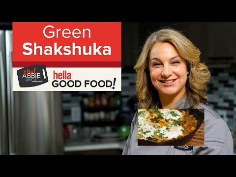 Green Spinach Shakshuka