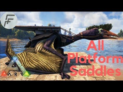 Ark trade dino with platform saddle