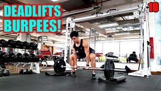 Sumo Deadlift + Burpee! by Jordan Yeoh Fitness