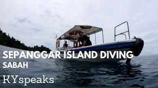 preview picture of video 'Diving at Sepanggar Island, Sabah'