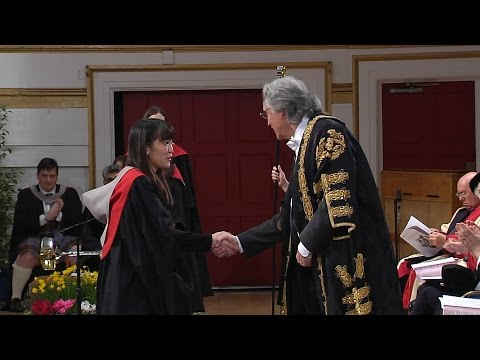 Princess Mako of Akishino Graduating from the University of Leicester