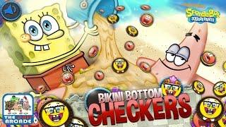 SpongeBob SquarePants: Bikini Bottom Checkers - Nick Stars Play Checkers (Gameplay)