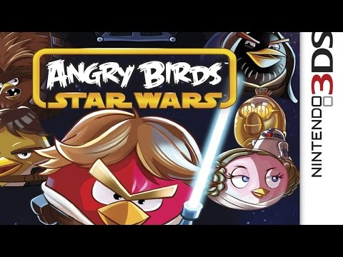 Angry Birds Star Wars Gameplay {Nintendo 3DS} {60 FPS} {1080p}