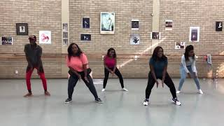 Skales   Ego  (Dance Class Video) | Pineapple Choreography | Zimbabwe