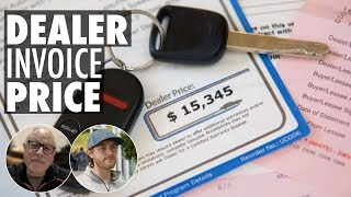 How to find the DEALER INVOICE price of a car, and how to use it in negotiations with a dealer