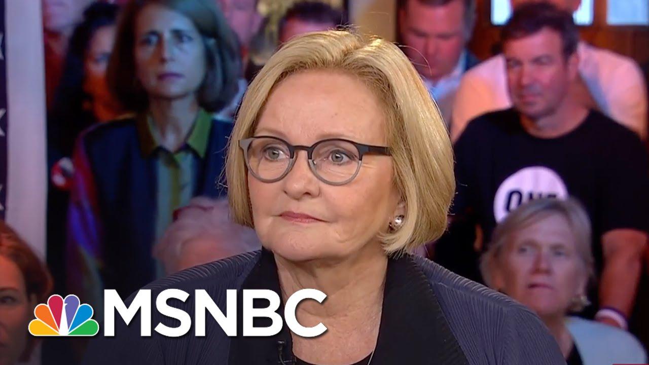 Claire McCaskill: First Night Wasn't Just Donald Trump Trash Talk | Morning Joe | MSNBC thumbnail