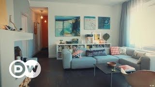 Interior Design - The Courage To Use Color | Apartment Tour