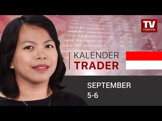 InstaForex tv calendar. Kalender Trader untuk September 12 - 14: Pasar Tenaga Kerja AS dalam Sorotan