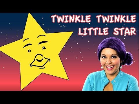 This Por Nursery Rhymes Video With Music For Le Little Star Is A Great Lullaby Rhyme Kids Babies Children Toddlers