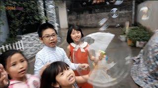Silent sea thả bong bóng xà phòng cùng các anh chị trong xóm - trò chơi thả bong bóng xà phòng