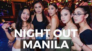 MANILA PHILIPPINES NIGHT LIFE! Makati And P.Burgos 🇵🇭