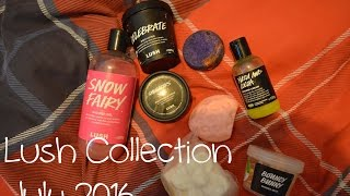 Lush Stash July 2016