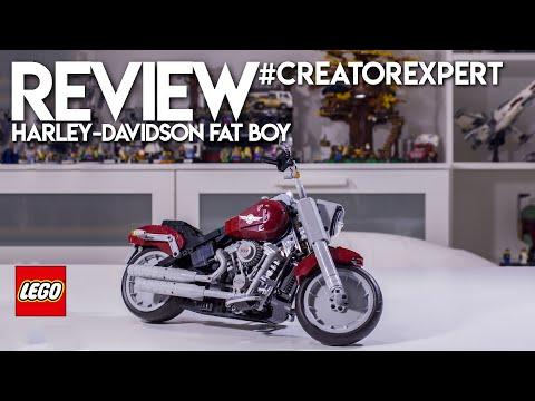 Vidéo LEGO Creator 10269 : Harley-Davidson Fat Boy