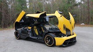 Opening up the Pagani Huayra ft. the $2.5Million Ferrari F60 America