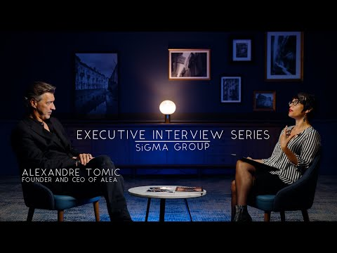 Alexandre Tomic, Founder & CEO of Alea | Executive Interview Series SiGMA TV