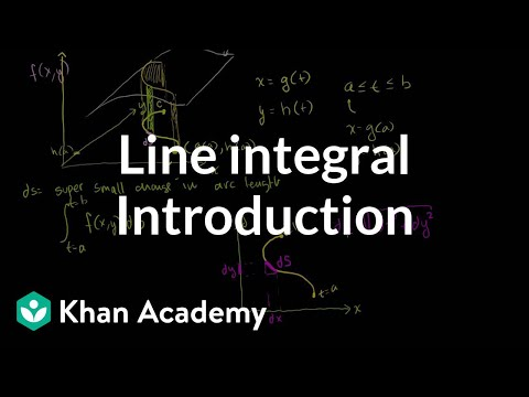 A thumbnail for: Line integrals and Green's theorem