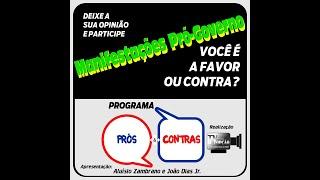 Programa Prós & Contras-Manifestações Pró Governo