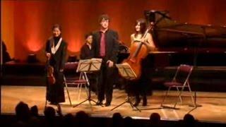 Sayaka Shoji, Tatjana Vassiljeva, J.-F. Neuburger - Mendelssohn: Piano Trio No.1, Op.49, 3rd mvt.