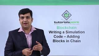 Blockchain - Writing a simulation code adding blocks in chain