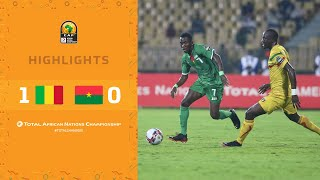 CHAN 2020 | 1er tour – Groupe A : Mali 1-0 Burkina Faso