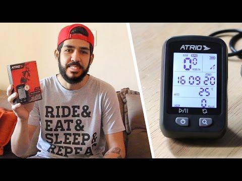 Impressões do GPS Iron da Atrio para ciclismo